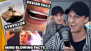 Synvillor, Mind blowing facts & Sjuka Design Fails | Reaktionspodden #007