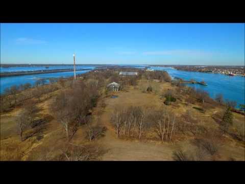 Boblo Island, Drone video