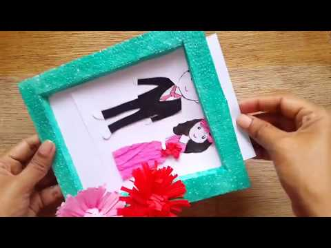 #photoframe #diy Easy Photo Frame Making Tutorial | Aloha Crafts
