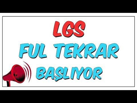 LGS Ful Tekrar Serisi Başlıyor
