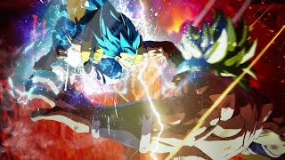 DBS Broly vs Gogeta Blue But With A DRAMATIC FINISH! Dragon Ball FighterZ ONLINE