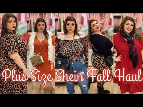 Plus Size SHEIN Fall Try On HAUL 🧡🍁 #SHEINCURVE