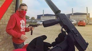 Airsoft War - Gang Turf War