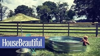Stock Tank Pools Are Going to Be All the Rage This Summer | House Beautiful