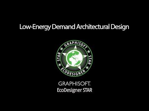 EcoDesigner STAR Workflow: Low Energy Demand Architectural Design 5 of 6