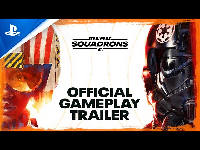 Star Wars: Squadrons - Official Gameplay Trailer | PS4