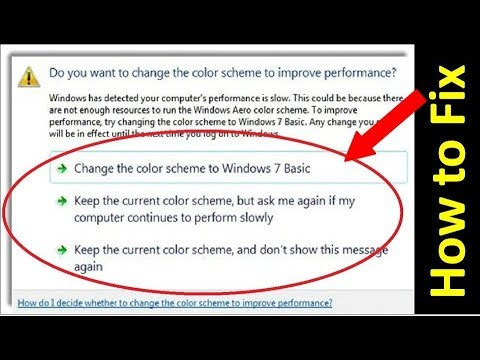 2 Ways to Fix The Color Scheme Has Been Changed To Windows 7 Basic - YouTube