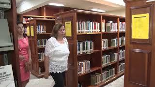 Biblioteca em nova sede