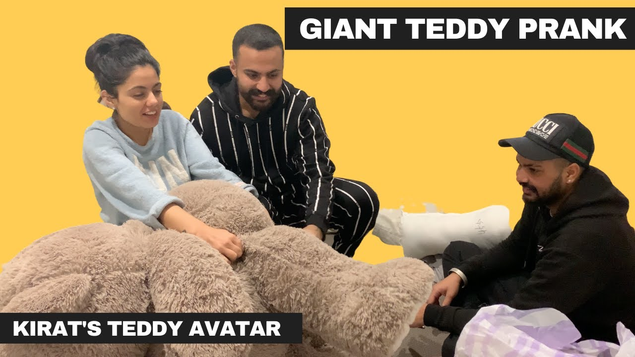 GIANT TEDDY BEAR PRANK | WIFE'S TEDDY BEAR AVATAR | SCARE PRANK | FULL OF FUN | BEST PRANK 2020