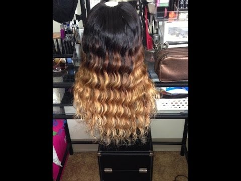 How I Ombre Amp Highlight Queen Weave Beauty Brazilian