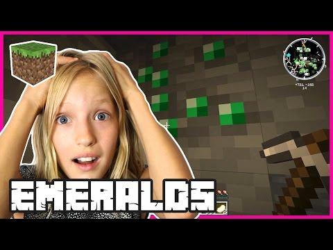 Diamonds, Emeralds, Mineshaft, Doggie / Minecraft