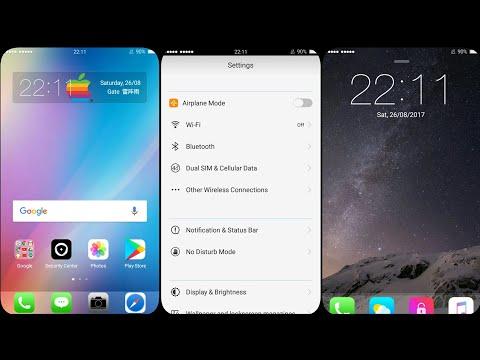 OPPO (ColorOS) Theme : iOS Touch V2,2.1,3