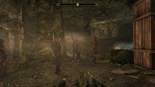Прохождение Skyrim #8 Прибытие матери ночи и Цицерона,контракт от тёмного братства