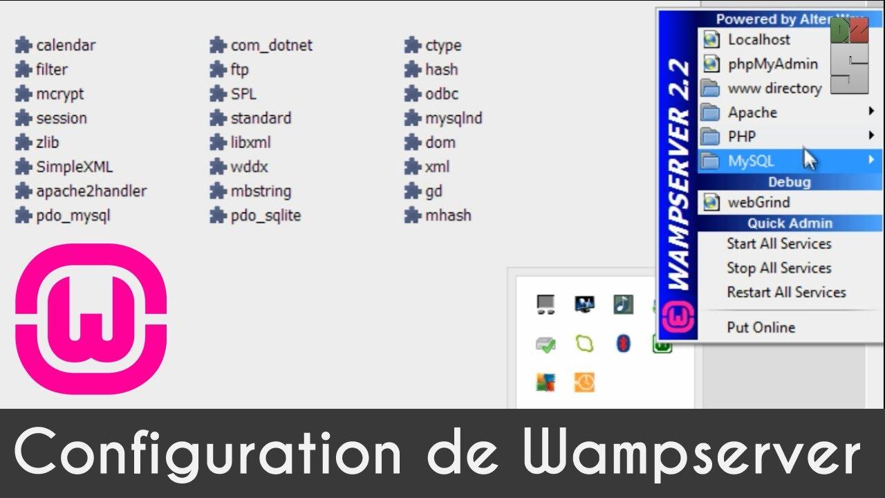 TÉLÉCHARGER GRATUITEMENT WAMPSERVER 2.1