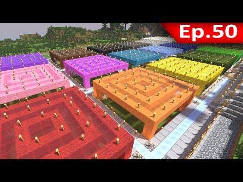 Tackle⁴⁸²⁶ Minecraft (1.7.9) #50 - Farm แกะเบื้องต้น(จริงๆนะ)