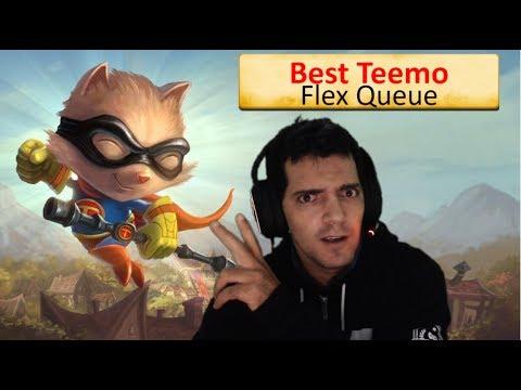 Best Teemo BR - Voltando pra ranked Flex