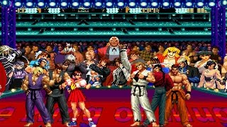 Mugen - Street Fighter vs. King of Fighters - Ansatsuken vs. Art of Fighting - 暗殺拳隊 vs. 龍虎之拳隊