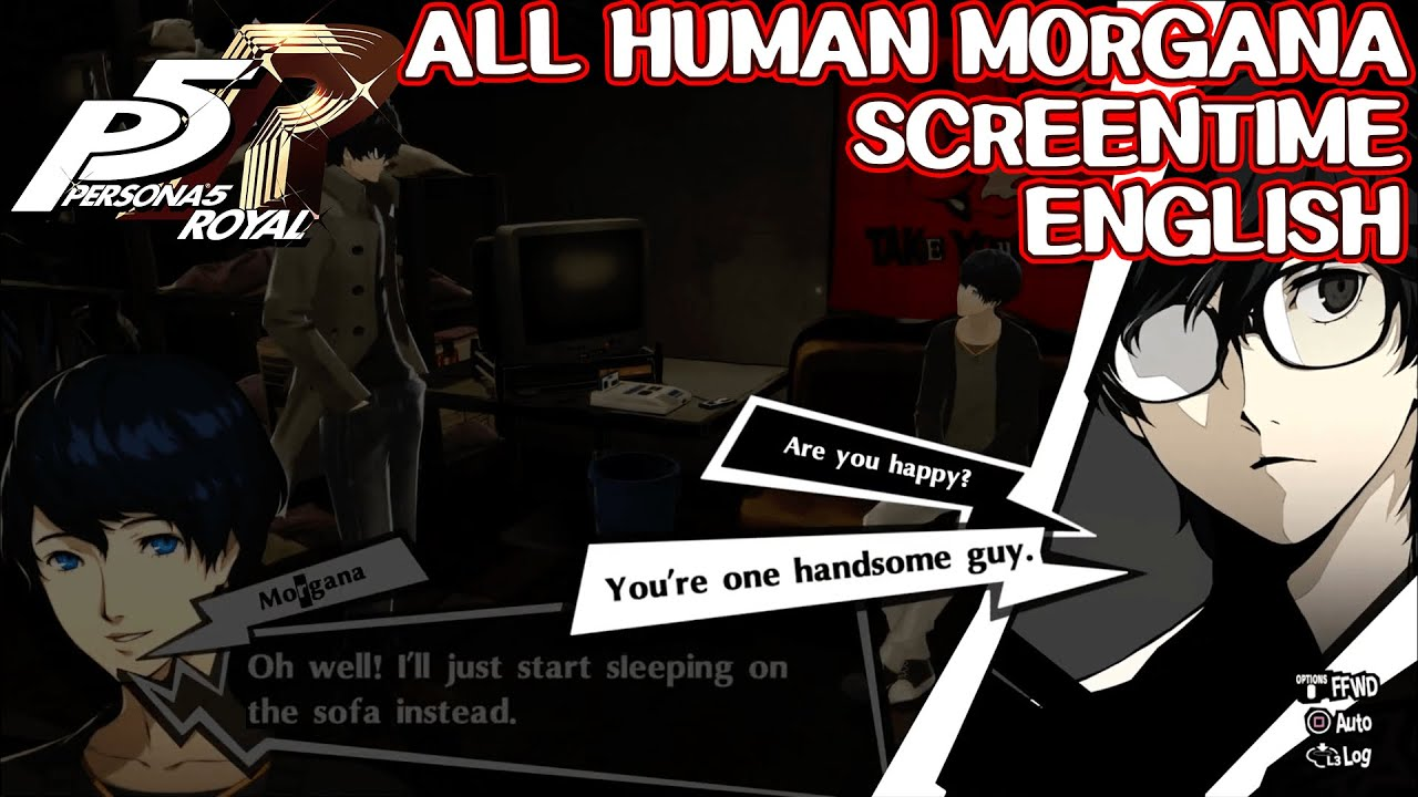 All Human Morgana Screentime English Persona 5 Royal Youtube Morgana (persona 5) shin megami tensei: all human morgana screentime english persona 5 royal