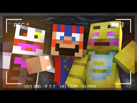 "Minecraft: Five Nights At Freddy's 2 ""Horror Game"" w/FaceCam Ep.1"
