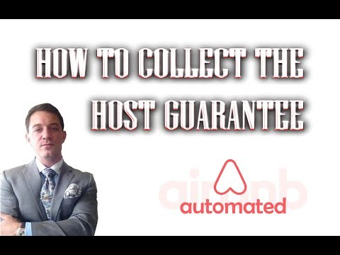 Airbnb Tips For Hosts | How To Collect The Airbnb Host Guarantee  |  Airbnb Risk Management 2018