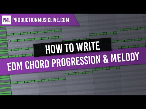 Creating a EDM Chord Progression and Melody / House, Progres