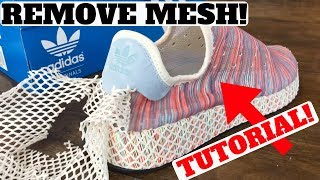 Adidas DEERUPT 'PRIDE' How to REMOVE The Mesh!