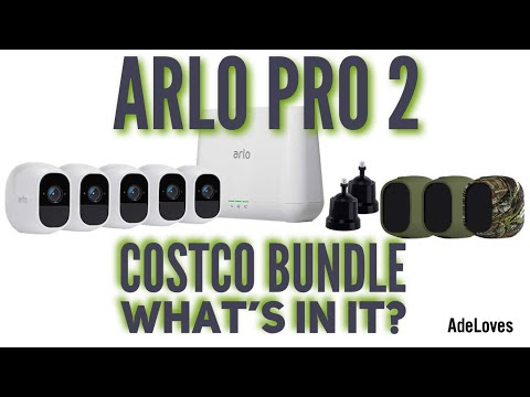 Arlo Pro 2 Costco Bundle What's Included? - YouTube
