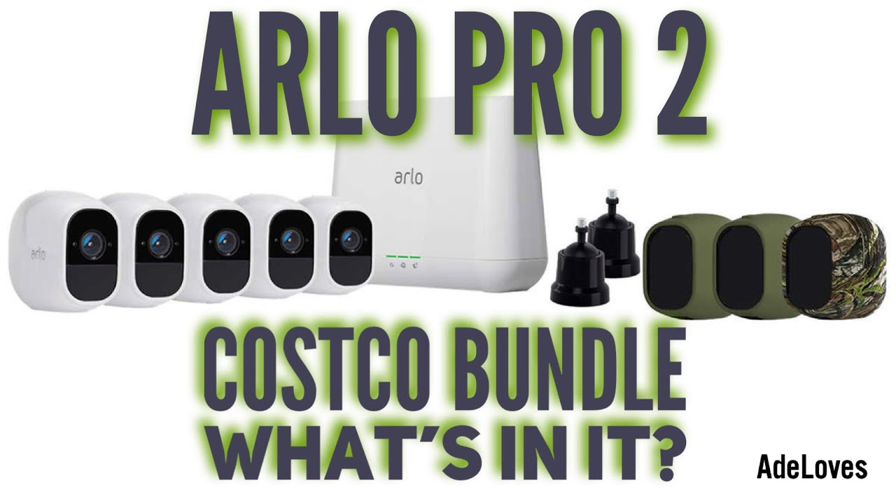 Arlo Pro 2 Costco Bundle What's Included?