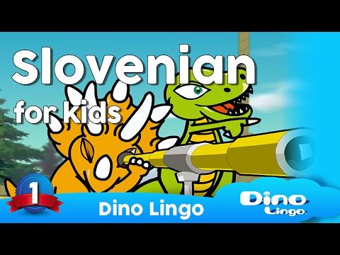 Slovenian for kids DVD set - Slovenian language lessons for children
