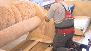 видео ремонт и обивка мягкой мебели