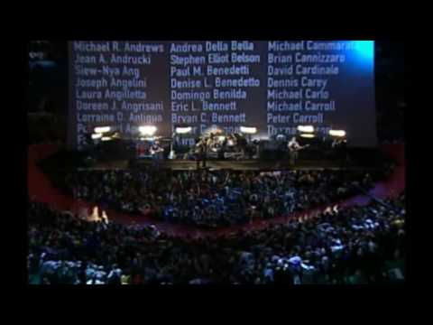 U2 Superbowl 36 halftime performance where the streets have no name HD