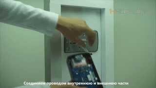Установка накладного электронного дверного замка Samsung SHS-2920/SHS-2320/H-Gang Touch On/Smart Tap(, 2014-08-28T20:26:33.000Z)
