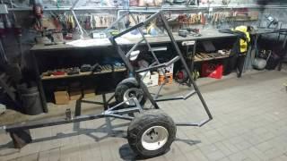 Trailer ATV  Przyczepa - wywrotka do quada.