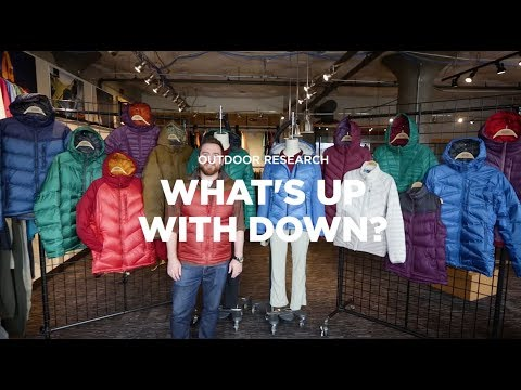 Outdoor Research Mens Down Baja Pullover
