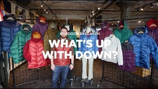 What's up with down? Meet the 2018 Outdoor Research Down Collection