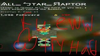 Pixel strike 3D|All Star Raptor