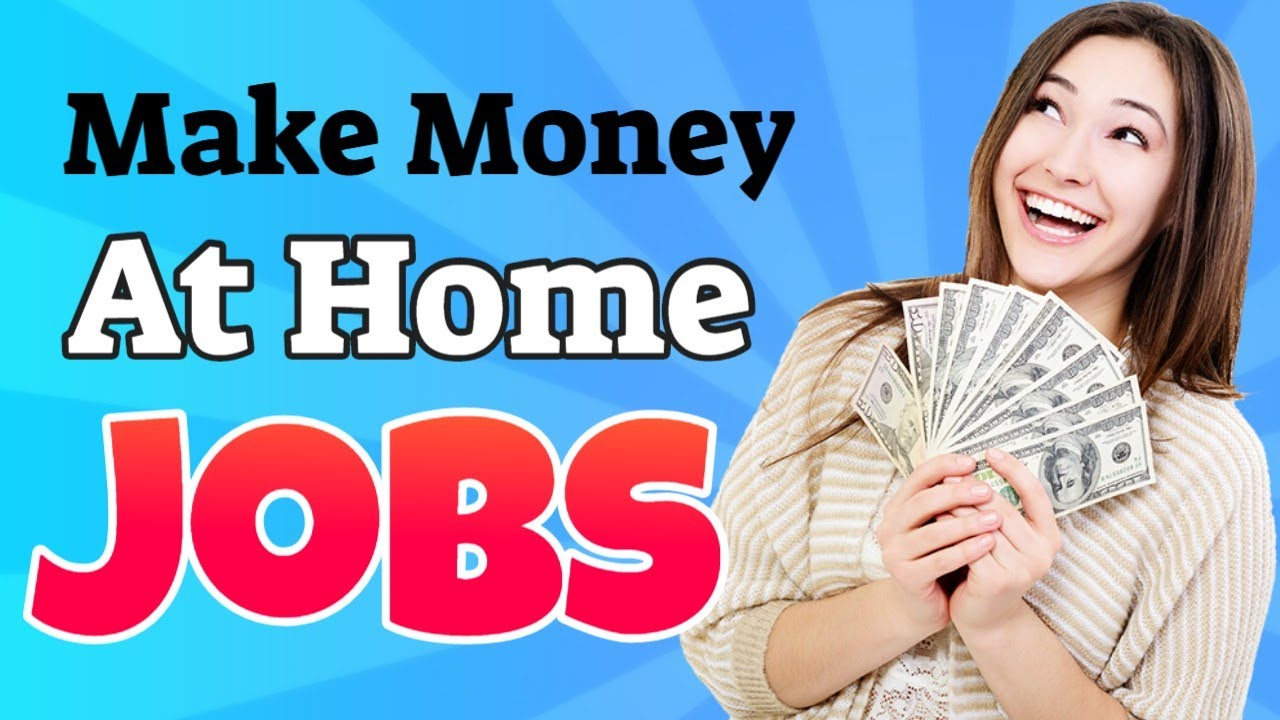 Making money at home jobs - Sell products for companies and get paid