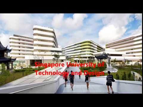 Singapore University of Technology and Design SUTD