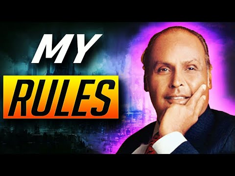 Dhirubhai Ambani's Top10 Rules For Success | Reliance Industries Founder Biography |Motivation Video