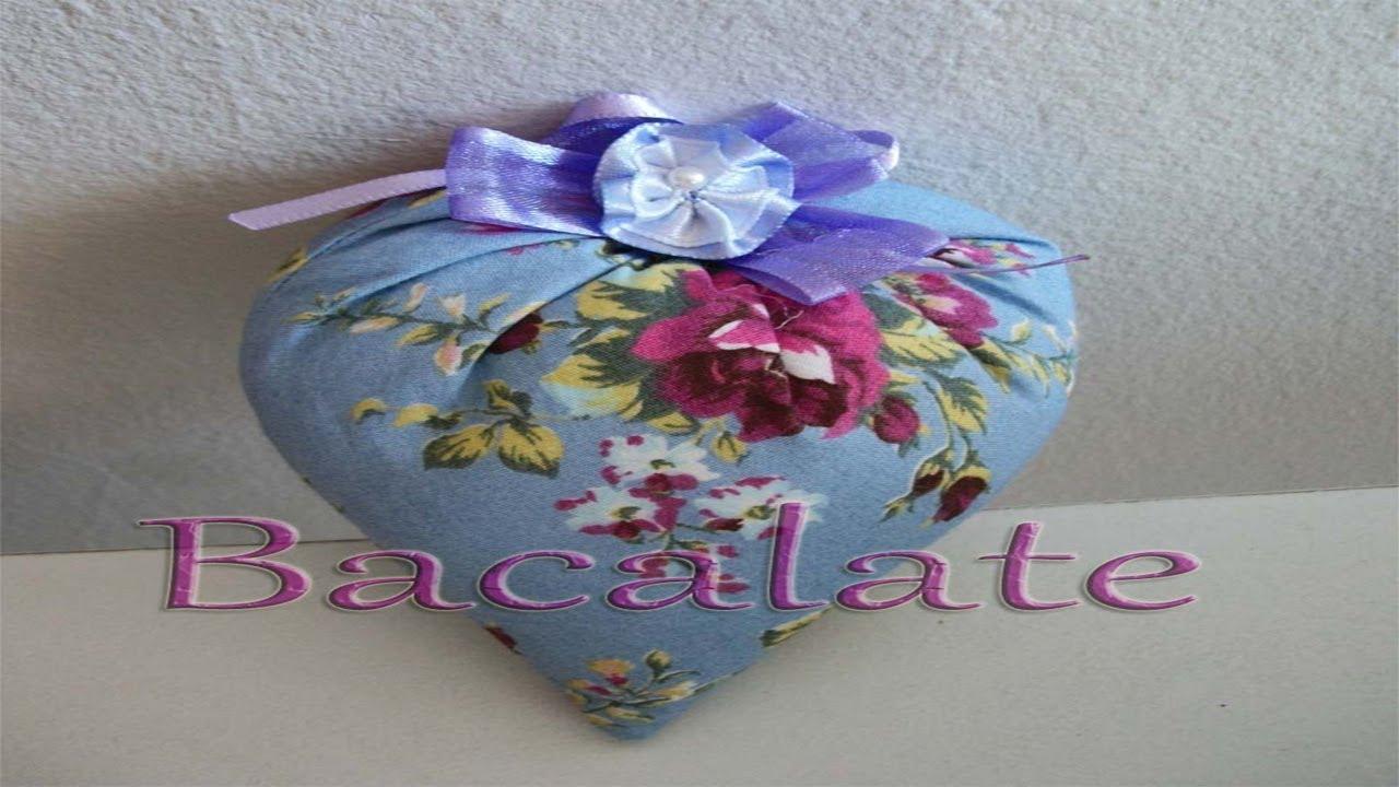 Artesanato Coração Mágico Em Tecido Lembrancinha Dia Das Mães Diy