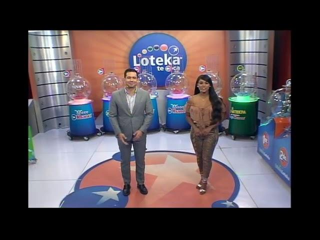 Loteka Lotería Electrónica Sorteo 06:00 PM 08-01-2021