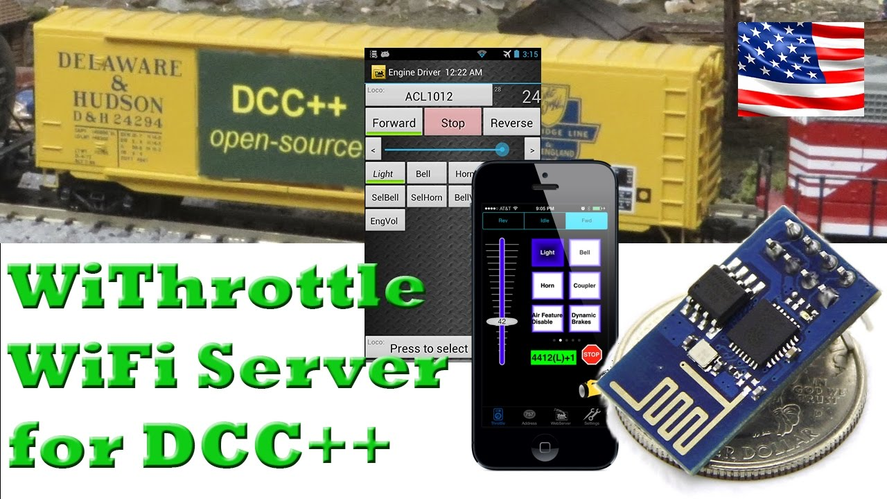 WiThrottle Server for DCC++ (in English)
