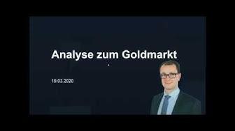 Analyse zum Goldmarkt