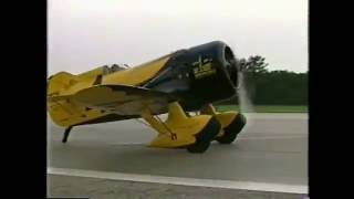 Gee Bee Z test flight - Delmar Benjamin