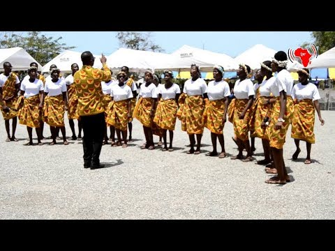 Accra High School performs at the 12th Second Cycle Schools Metropolitan Festival of Arts