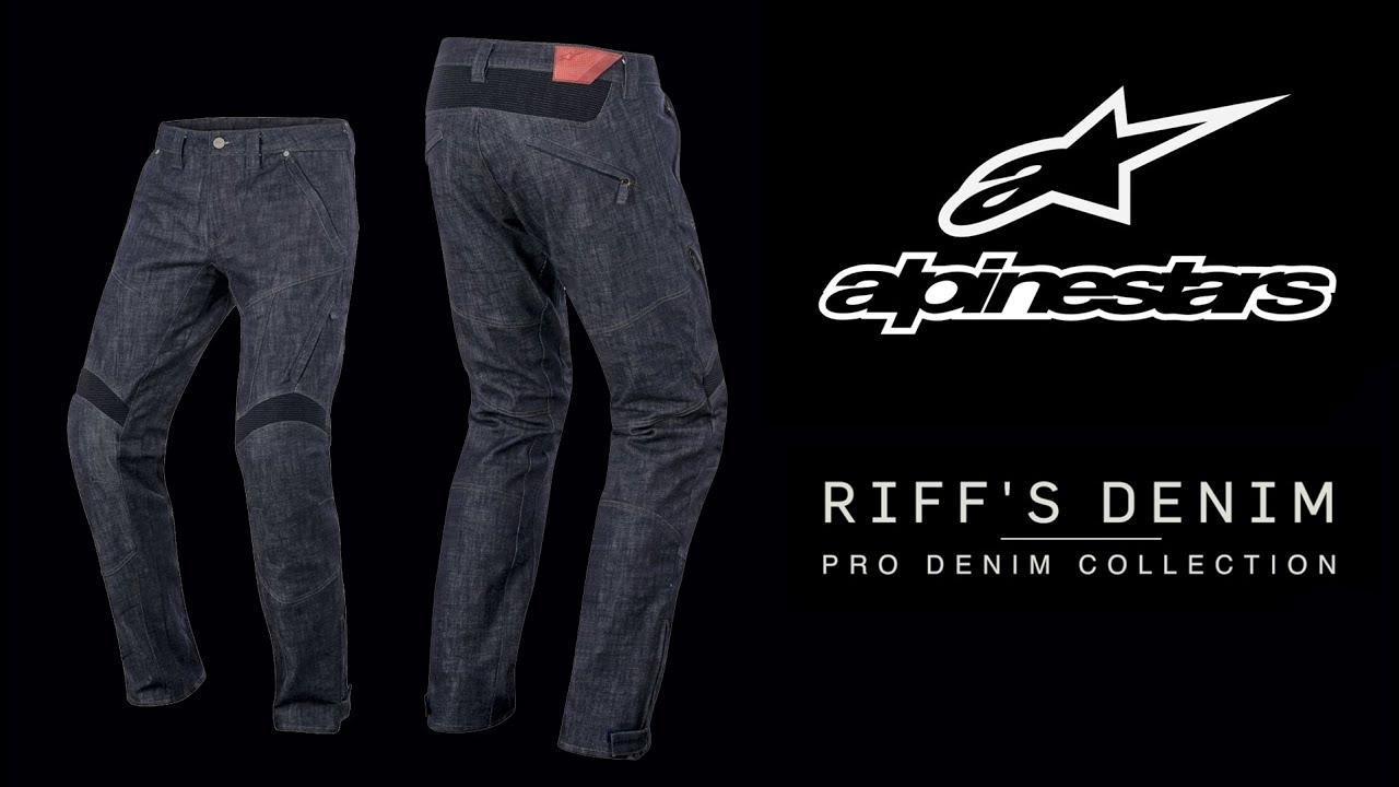 Pantalones Vaqueros Alpinestars Riffs Youtube