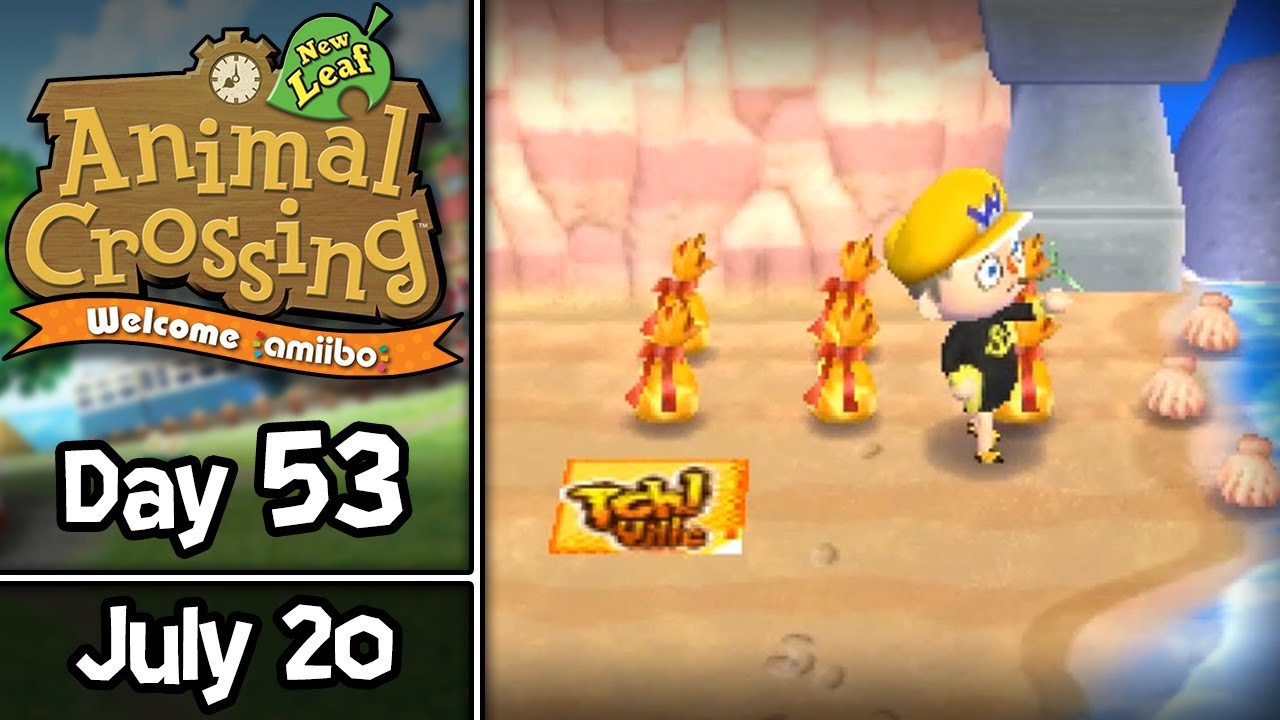 Animal Crossing New Leaf Day 53 S Ya Did July 20 Welcome Amiibo Update
