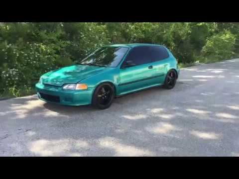 Walk around Clean 1995 Honda Civic Dx Hatch (Hatchback EG) for sale (SOLD)