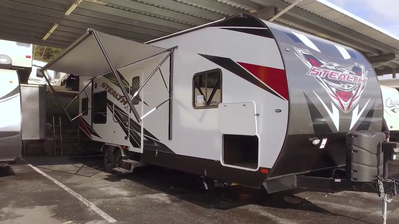 Stealth Toy Hauler >> 2017 Forest River Stealth Wa2715 Toy Hauler Hd