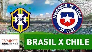 Transmissão AO VIVO - Brasil x Chile